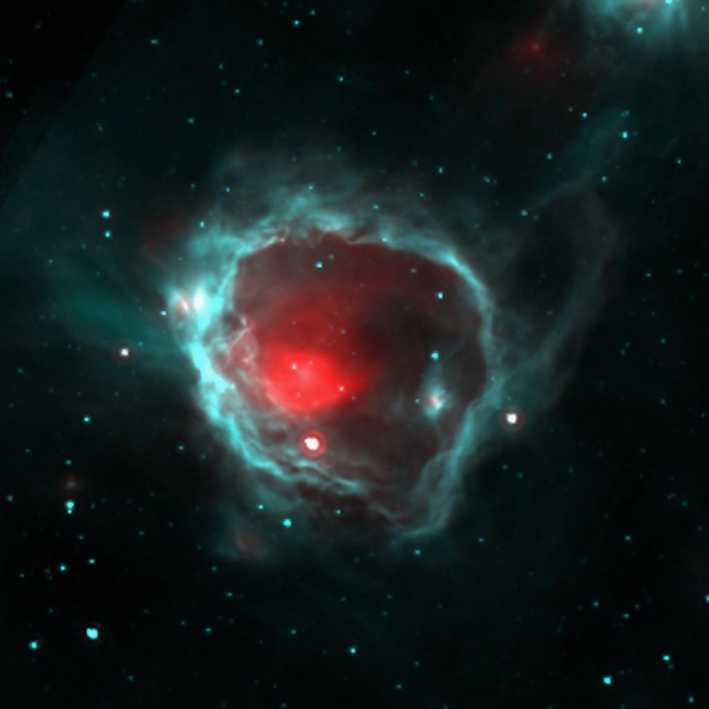 Illustration apparition de la matière solide