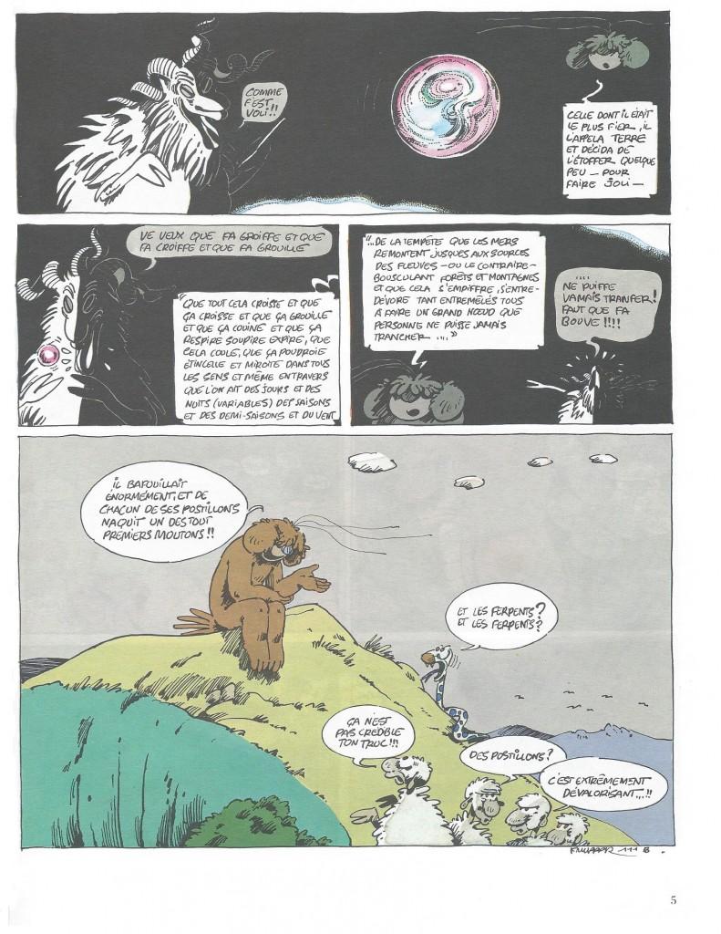 La théorie du bélier, pp 4-5